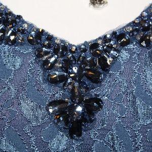 Dresses & Skirts - PROM dress Blue lace Dress NEW